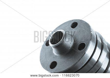 Steel welding flanges.