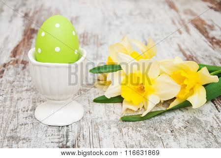 Easter Egg In A Cup