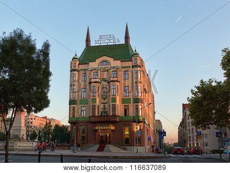 Hotel Moskva Is A Four Star Hotel In Belgrade