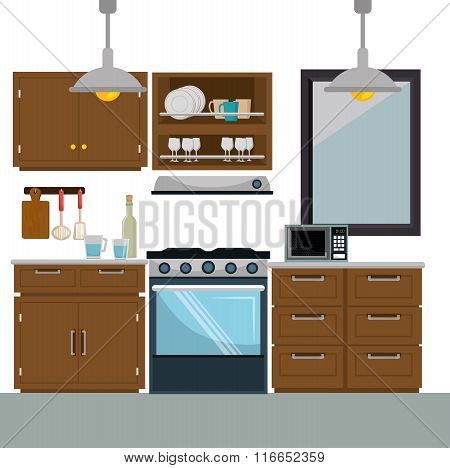 Kitchen and dishware