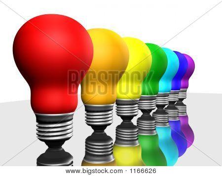 Bulbs In A Row
