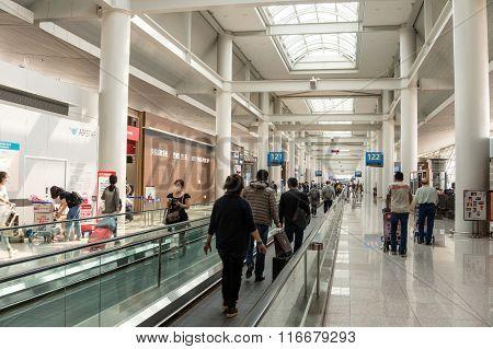 Tokyo Narita Airport Travelator