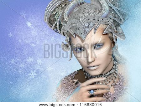 Snow Queen, 3D Cg