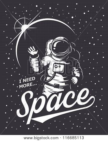 T-shirt design print