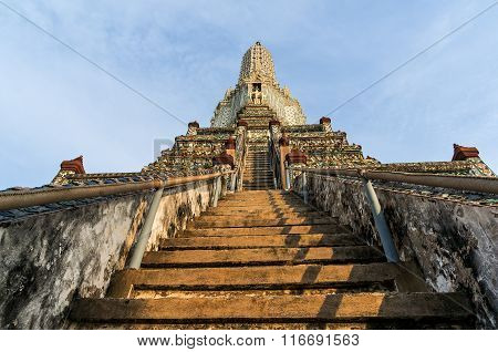Main prang Wat Arun temple
