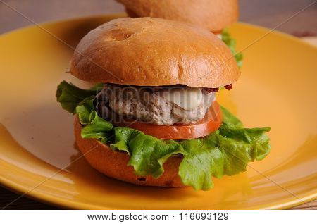 Chicken Burger BBQ