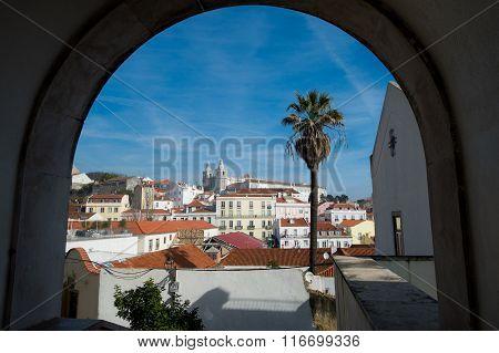 Lisbon. Old city