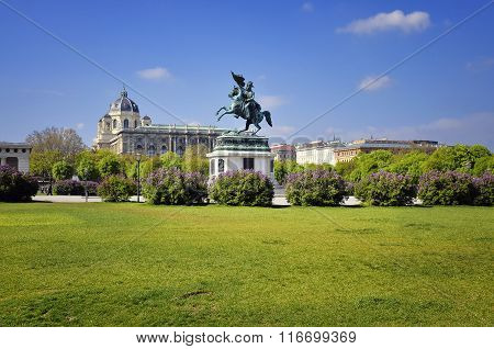 The Heroes square in Vienna