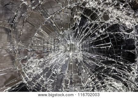 Broken  And Smashed Glass
