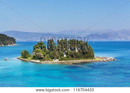 Mouse Island on Corfu,Greece