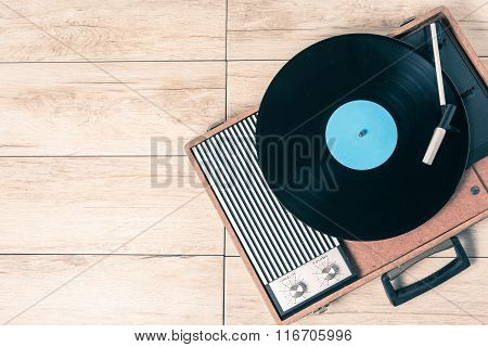 Player Record And Vinyl Vintage