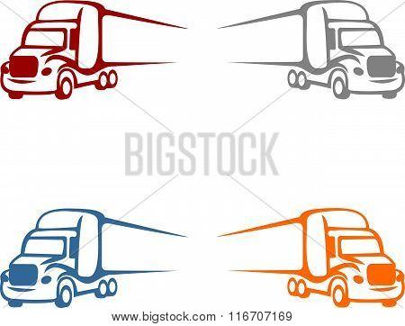 stocks logo big truck