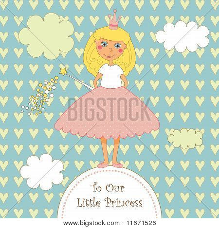 Sweet Little Princess Card