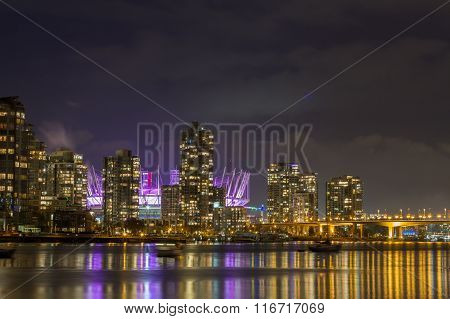 Vancouver and B.C. Place