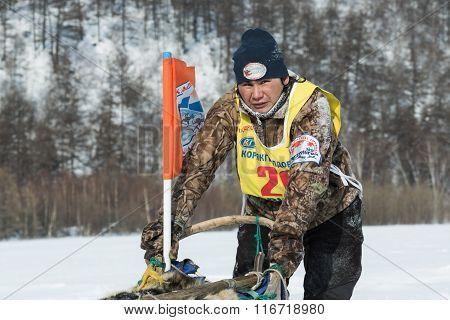 Kamchatka Sled Dog Racing. Russian Far East, Kamchatka Peninsula