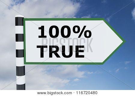 Hundred Percent True Concept