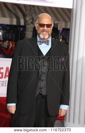 LOS ANGELES - FEB 1:  Fred Melamed at the Hail, Caesar World Premiere at the Village Theater on February 1, 2016 in Westwood, CA
