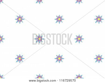 Seamless flowerly background