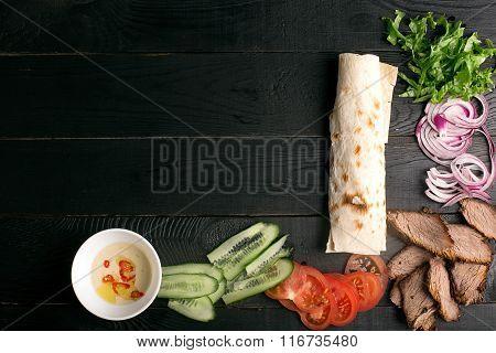 Meat Doner Kebab