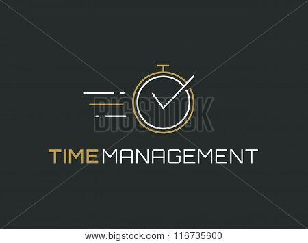 Time Management Logo.