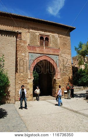 Puerta del Vino, Alhambra Palace.
