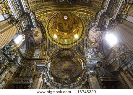Church Of The Gesu, Rome, Italy