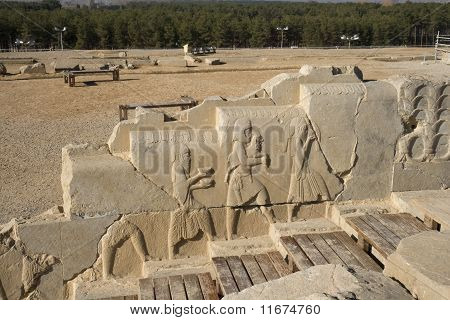 Persepolis, Bass Relief Decoration