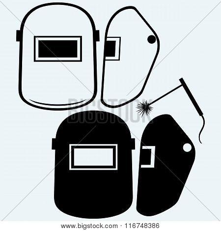 Protective welding mask helmet