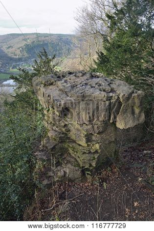 Devils Pulpit And Wye Valley