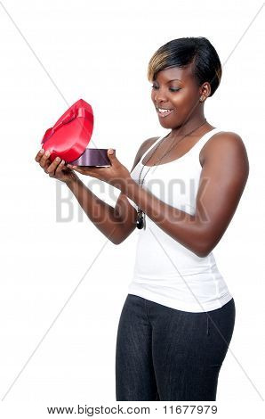 Valentines Day Heart Box Gift Woman