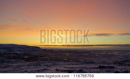 Sunrise in Iceland