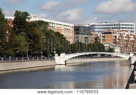 Ozerkovskaya Embankment In Moscow