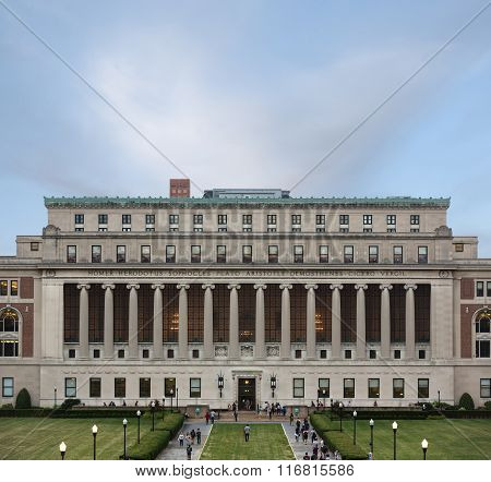 Columbia University, New York City, Usa