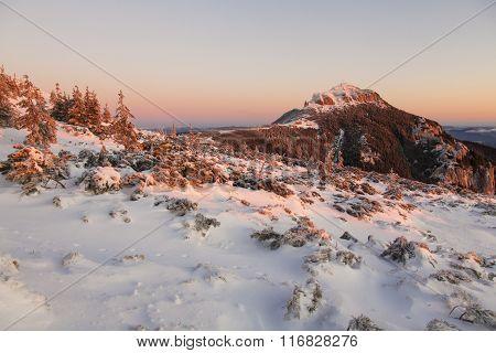 Alpine Sunrise In Ceahlau