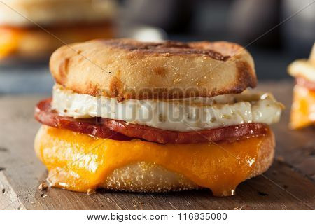 Homemade Breakfast Egg Sandwich