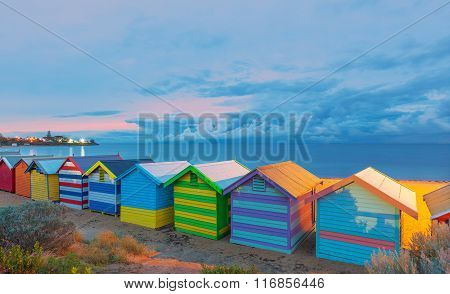 Brighton Beach Houses Australia