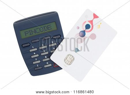 Card Reader For Reading A Bank Card