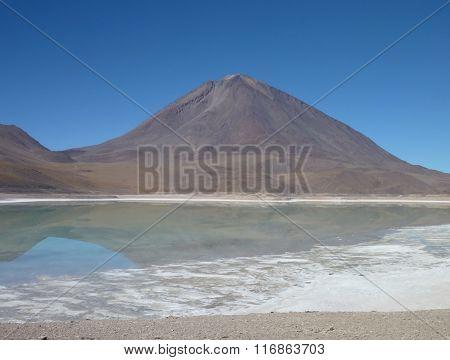Volcan Licancabur At Chilean Bolivian Border
