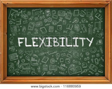Green Chalkboard with Hand Drawn Flexibility.