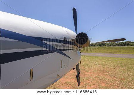 Plane Engine Propeller