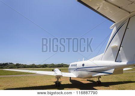 Plane Twin Engine Airport