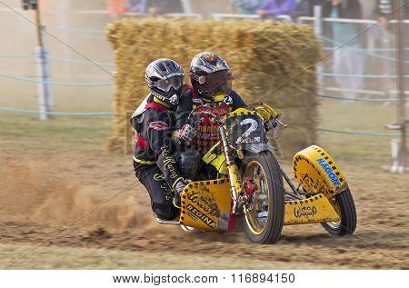 Grasstrack sidecar