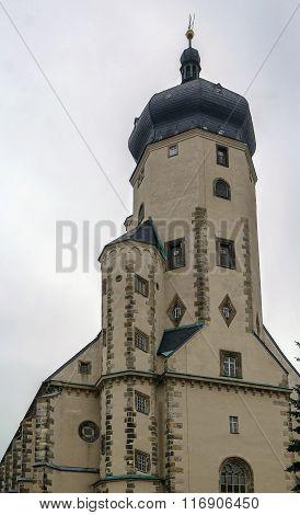 St Mary's Church, Marienberg, Germany