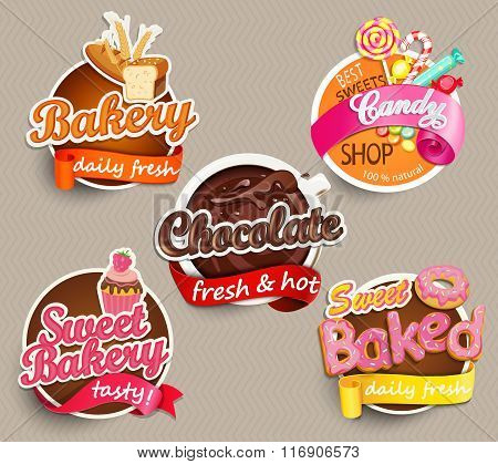 Food Label or Sticker Design Template