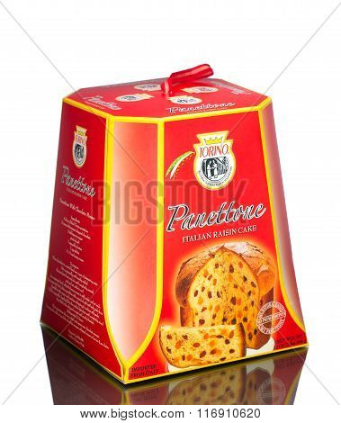 TORINO PANETTONE - All Natural Imported Italian Butter Raisin Bread w/Candied Fruits - 2 LB