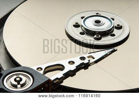 Open Hard Disc Drive