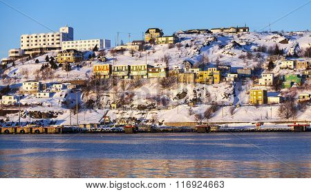 The Battery in St. John's, Canada.