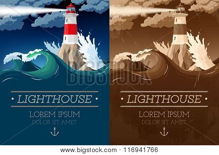 Lighthouse on the rock