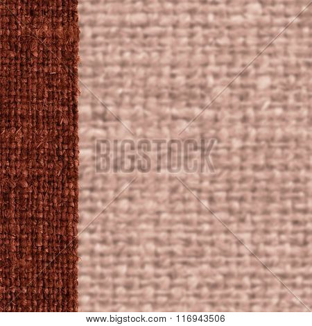 Textile Surface, Fabric Exterior, Umber Canvas, Light Material, Retro-styled Background