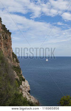 Rocky coast of Mallorca